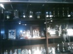 Look at all the awards! I couldn't get the whole wall of them in one picture.