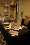 Another view of my booth - this time without me there.